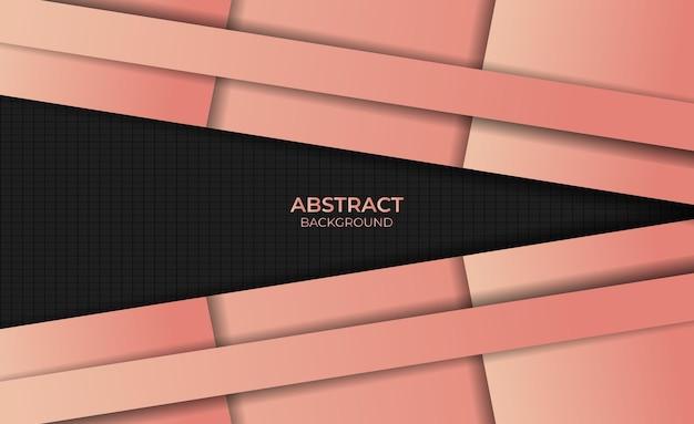 Achtergrond abstracte gradiënt oranje kleur ontwerpstijl