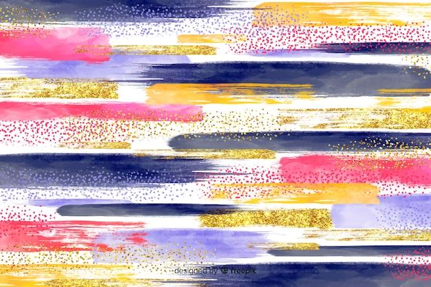 Achtergrond abstracte penseelstreken