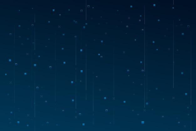 Achtergrond abstracte pixelregen