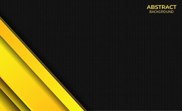 Achtergrond abstracte stijl gradiënt helder geel ontwerp