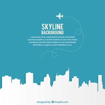 Achtergrond de skyline