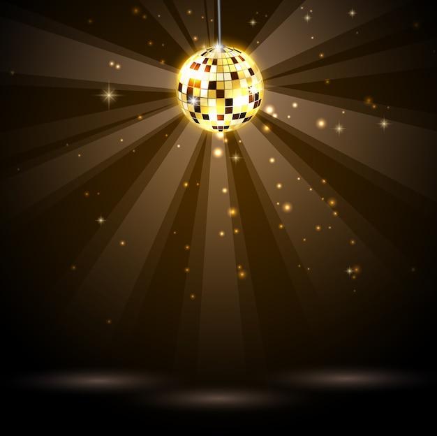 Achtergrond disco feestje