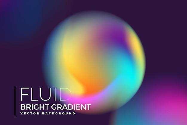 Achtergrond element ontwerpconcept holografische vloeistof helder verloop