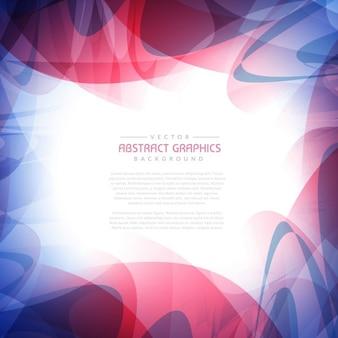 Achtergrond frame met abstracte kleurrijke vormen