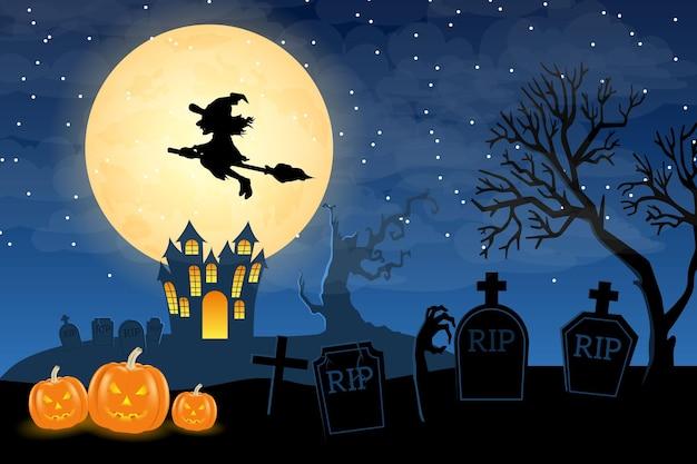 Achtergrond halloween-ontwerp