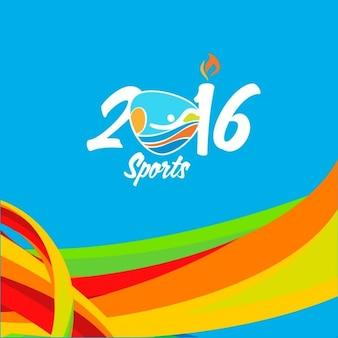 Achtergrond in de kleuren van de vlag van brazilië