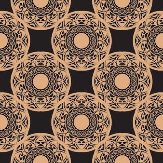 Achtergrond in een vintage stijlsjabloon. indiase bloemenelement. grafisch ornament voor behang, stof, verpakking, verpakking. chinees blauw en zwart abstract bloemenornament.