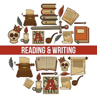 Achtergrond lezen en schrijven