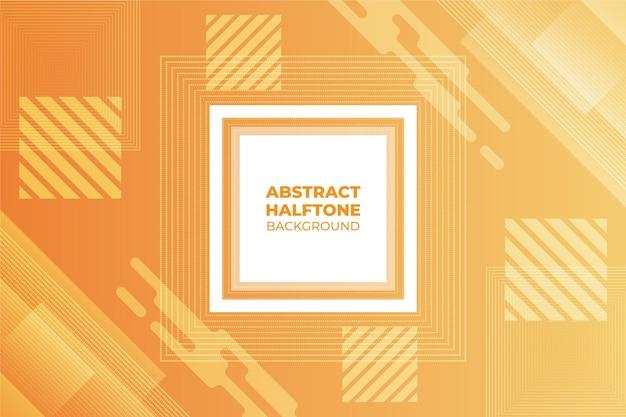 Achtergrond met abstracte halftoon
