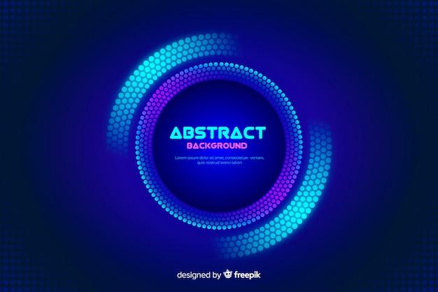 Achtergrond met abstracte kleurrijke cirkels