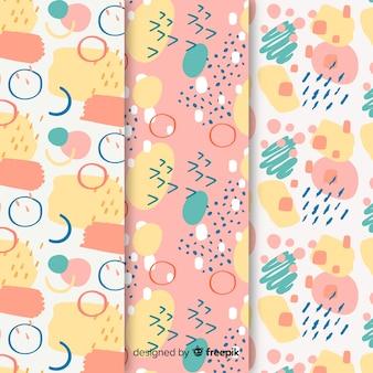 Achtergrond met abstracte patrooninzameling