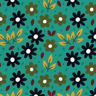 Achtergrond met bloemenpatroon