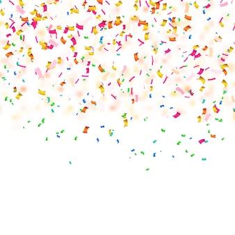 Achtergrond met confetti.