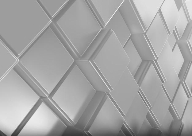Achtergrond met driedimensionale kubussen