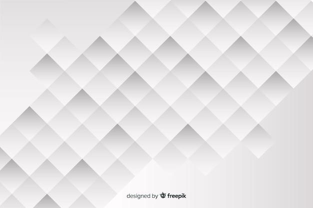 Achtergrond met geometrische modellen in papierstijl