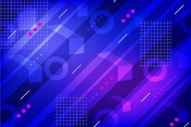 Achtergrond met geometrische verloopvormen