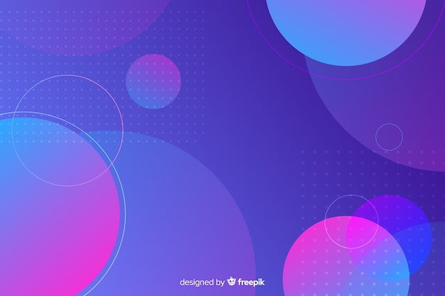 Achtergrond met geometrische vormen
