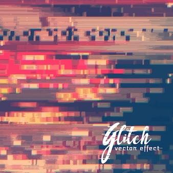 Achtergrond met glitch effect