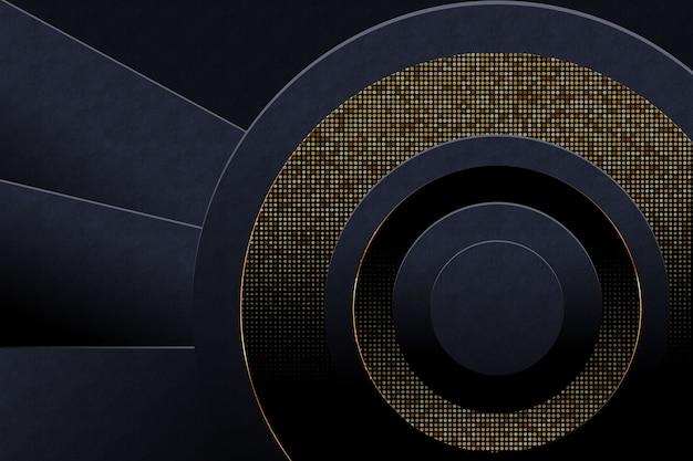 Achtergrond met gouden details