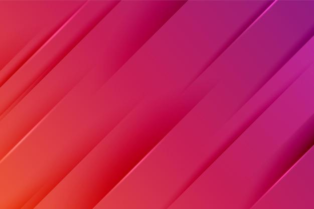 Achtergrond met gradiëntstijl dynamische lijnen