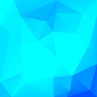 Achtergrond met kleurovergang abstracte vierkante driehoek. cool ijs gekleurde veelhoekige achtergrond voor zakelijke presentatie. trendy geometrische abstracte banner. corporate flyer ontwerp. mozaïek stijl.