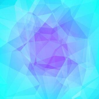 Achtergrond met kleurovergang abstracte vierkante driehoek. cool ijs gekleurde veelhoekige achtergrond voor zakelijke presentatie. zachte gradiëntkleurovergang voor mobiele applicatie en web. trendy kleurrijke banner.