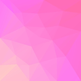 Achtergrond met kleurovergang abstracte vierkante driehoek. warm roze en gele veelhoekige achtergrond voor mobiele applicatie en web. trendy geometrische abstracte banner. corporate flyer ontwerp. mozaïek stijl.