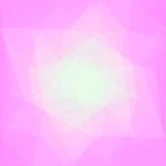 Achtergrond met kleurovergang abstracte vierkante driehoek.