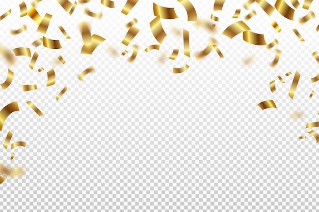 Achtergrond met kleurovergang confetti