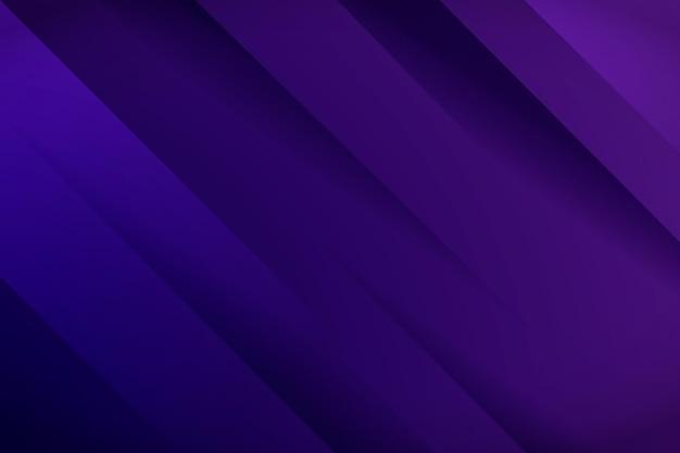 Achtergrond met kleurovergang dynamische paarse lijnen