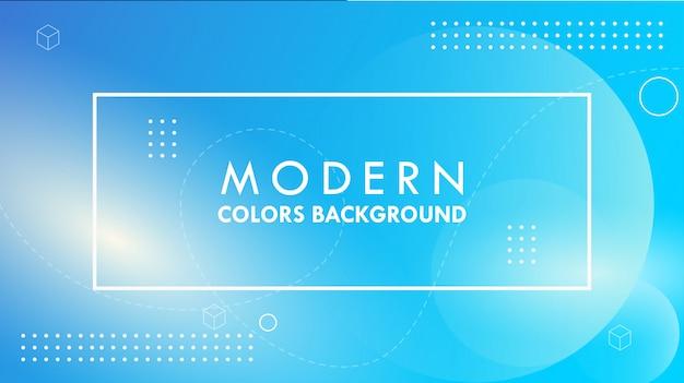 Achtergrond met kleurovergang geometrische vorm met licht