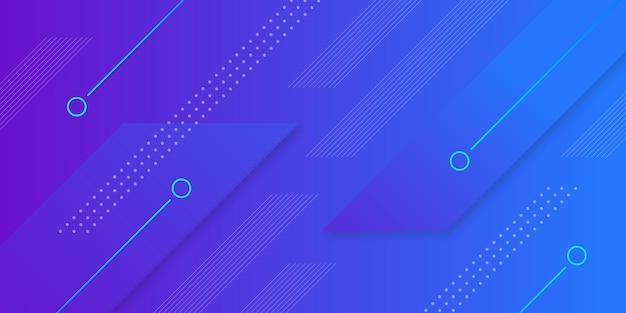 Achtergrond met kleurovergang geometrische vorm
