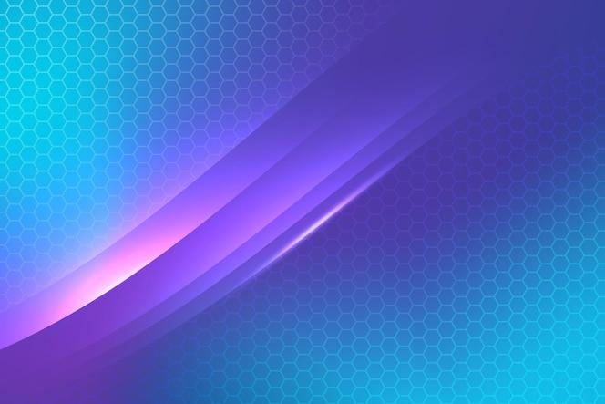 Achtergrond met kleurovergang in futuristische stijl