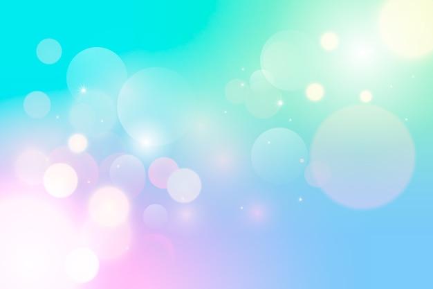 Achtergrond met kleurovergang met bokeh-effect