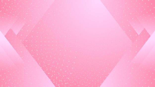 Achtergrond met kleurovergang roze halftoonstijl