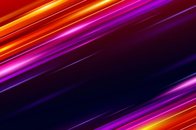 Achtergrond met kleurovergang snelheid