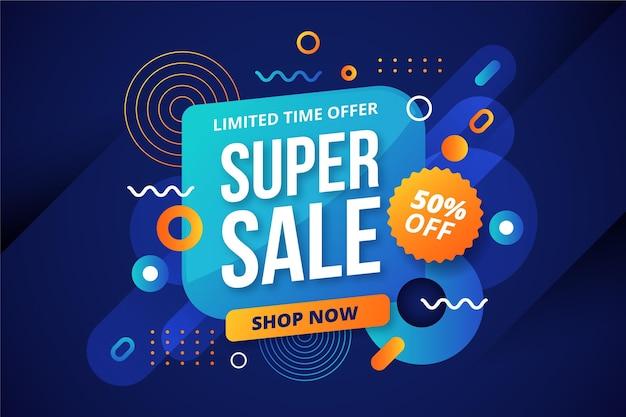 Achtergrond met kleurovergang super verkoop