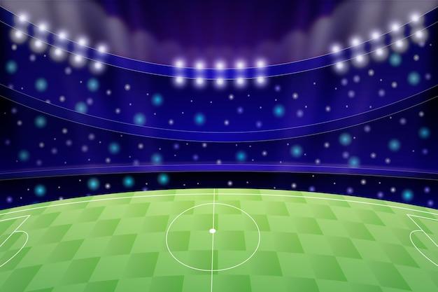 Achtergrond met kleurovergang voetbalveld