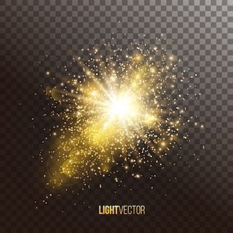 Achtergrond met sparkles en glitter