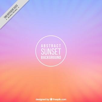Achtergrond met zonsondergang kleuren