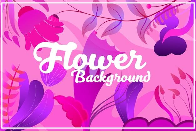 Achtergrond natuur bloemdessin voor cosmetica parfum schoonheidsverzorgingsproducten