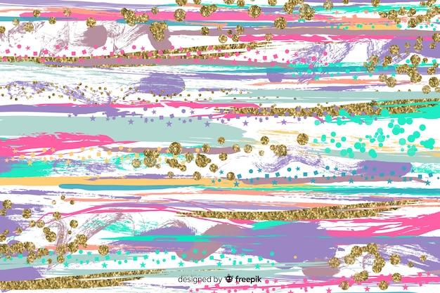 Achtergrond penseelstreken abstract