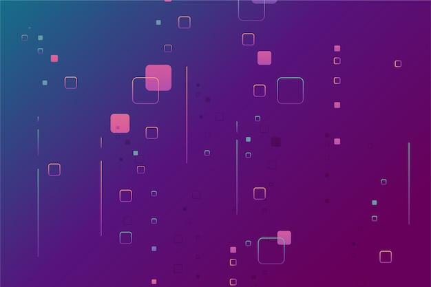 Achtergrond pixel regen abstract