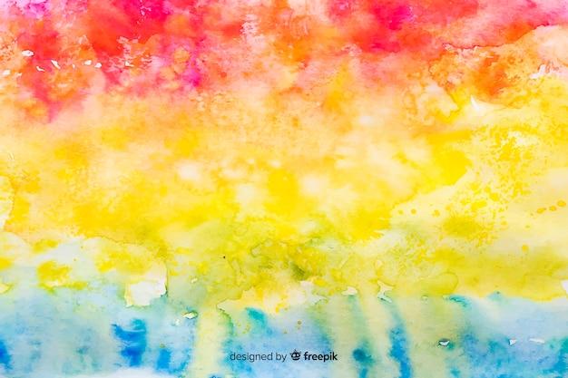 Achtergrond regenboog in tie dye stijl