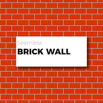 Achtergrond rode bakstenen muur