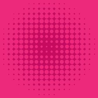 Achtergrond sjabloonontwerp met roze stippen