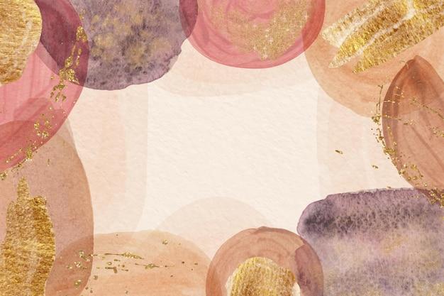 Achtergrond van aquarel abstracte vormen