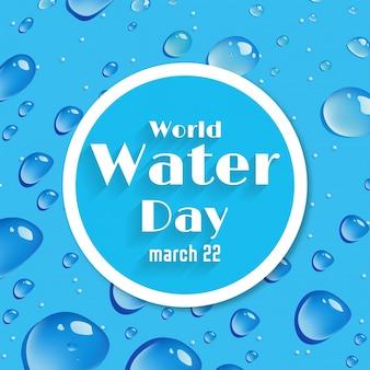 Achtergrond van de world water day