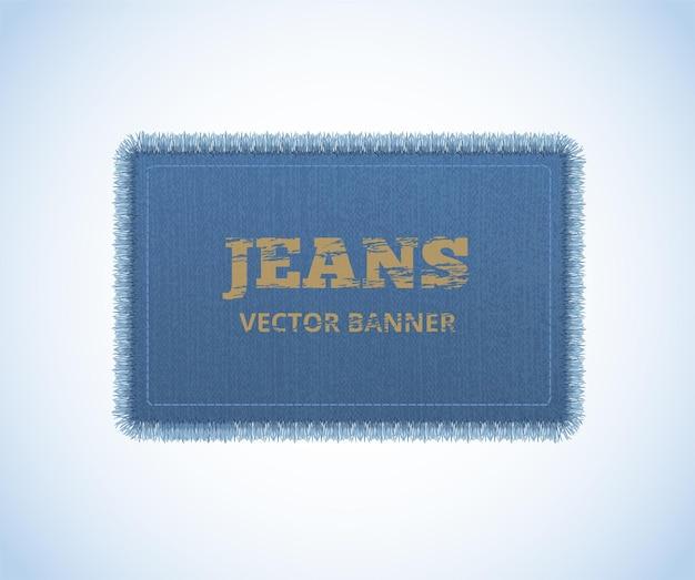 Achtergrond van denim textuur. jeans realistisch.