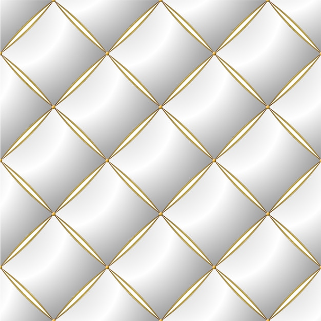 Achtergrond van elegant gewatteerd patroon